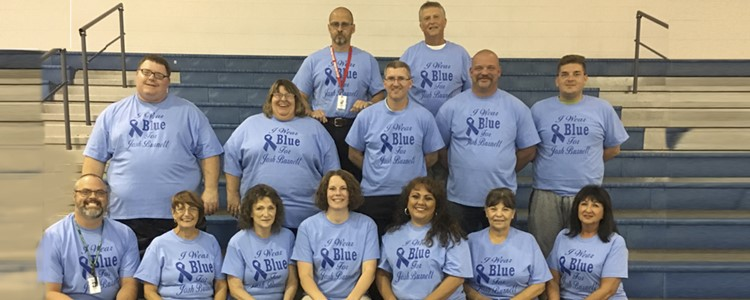 A picture of Ramey-Estep High staff.