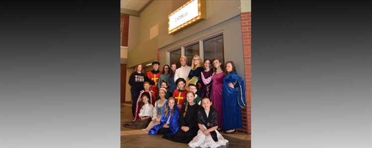 The Cast of CINDERELLA - An Annie Johnson Production