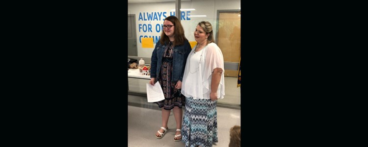 Ellen Groves named Mother of the Year by Ashland Kiwanis from an essay written by her daughter Kaeli.  Congratulations!