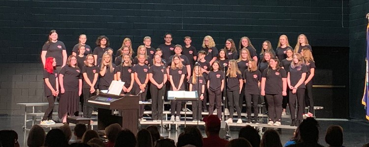 Boyd County Middle School 7th and 8th Grade Distinguished Choir