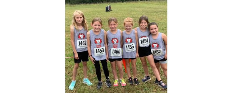 Elementary Cross Country Team
