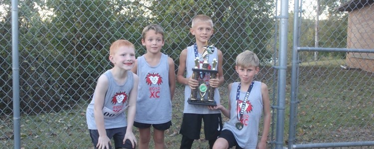 Tri-State Elementary Cross Country Meet - Boys 2nd place team Congratulations!