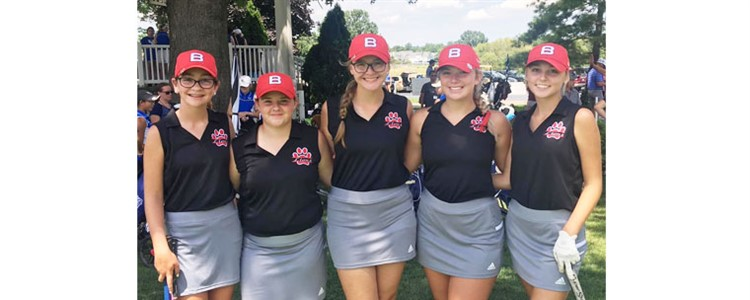 Boyd County Girls Golf Team finished 10th in the KSHAA Girls State Golf Championship - Congratulations