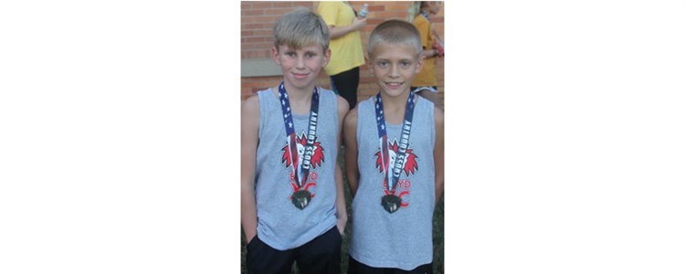 K-5 Cross Country Winners