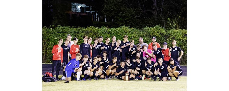 Boyd County Boys Soccer win District Championship!