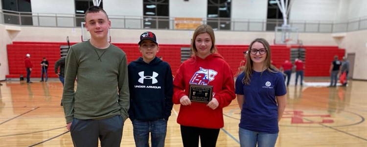 BCMS Archery - First Place Middle School Division at BCHS Archery Tournament