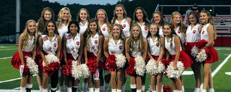 Boyd County High School Cheerleaders - Image compliments of Keith Osborne
