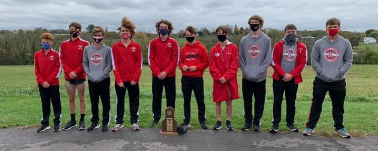 Cross Country Boys 3rd Consecutive Region 6AA Champions.  J. B. Terrill was boys individual champion.