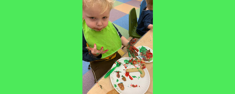 Cookie Making at KinderCollege