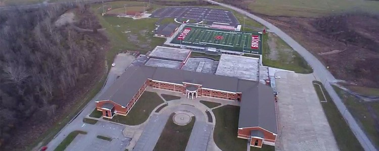 Aerial View of Boyd County High School