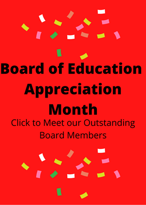 Board Of Education Appreciation Month