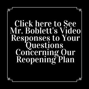 Mr. Boblett Q and A to BCPS Reopening Plan