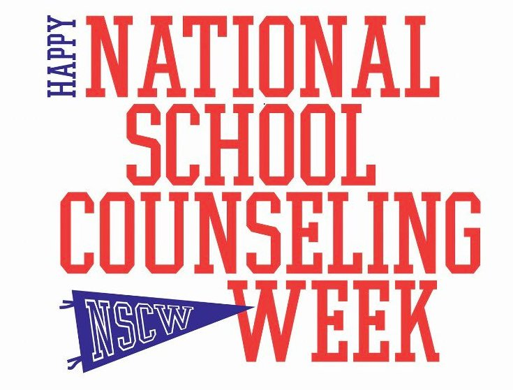 National School Counselor Appreciation Week 2018 logo