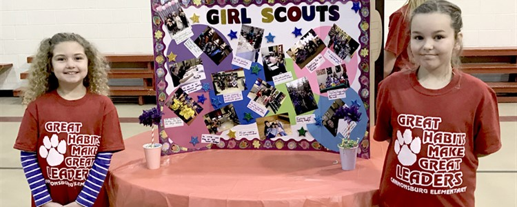 Girl Scouts - teaching young girls how to be leaders for over 100 years.