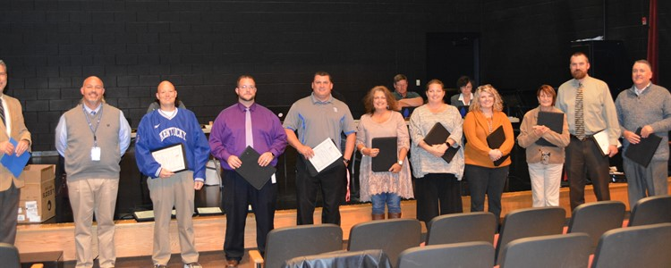 The Board of Education honored our Principals during Principal Appreciation week. Thank you for all you do every day!