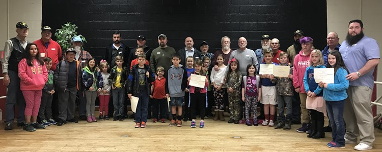 Veterans were honored with a special assembly at Cannonsburg Elementary. Thank you for your service!