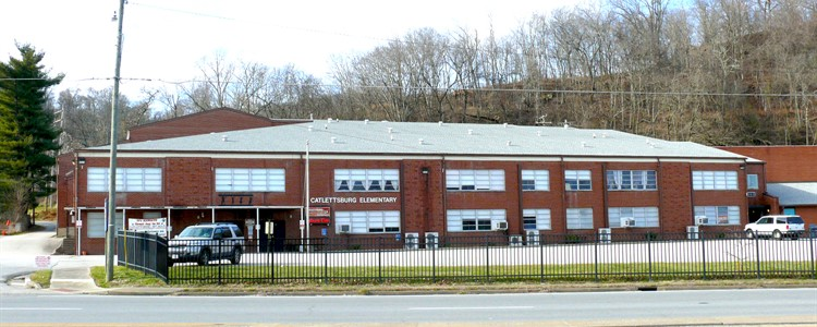 Picture of the Catlettsburg Elementary school.