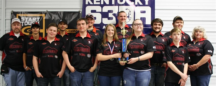 Boyd County High School's Scholastic 3-D Archery team won FIRST PLACE at state! Congratulations, team! Coaches are Mark Whitt (far left) and Kami Hemmann (far right). The team will be traveling to the national competition.