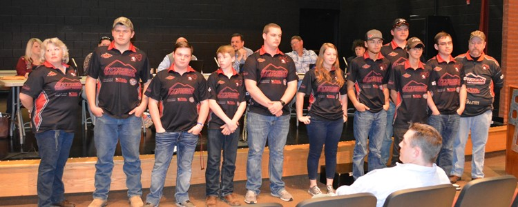 The BCHS Scholastic 3-D Archery Team won the NATIONAL CHAMPIONSHIP TOURNAMENT held in Cincinnati! This was their 4th national title. Katie Hemmann, 6th from right, won first place in her division.