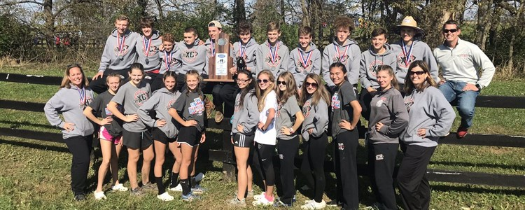 Congratulations to our Boys and Girls Cross Country Teams! The Girls came in 13th and the Boys Team was Runner Up at State!