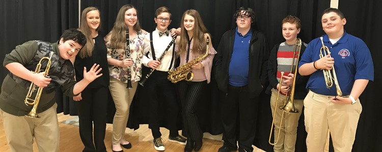 Congratulations to the students chosen from BCMS to attend the All-District Band Clinic! Mr. Molinary is their band director.