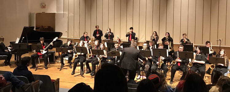 All-District Band Concert.