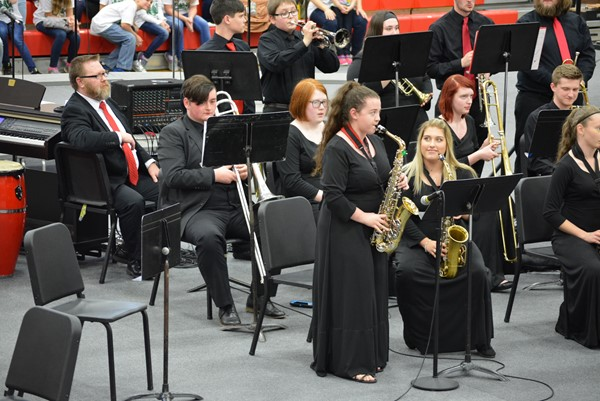 The Boyd County High Jazz Band