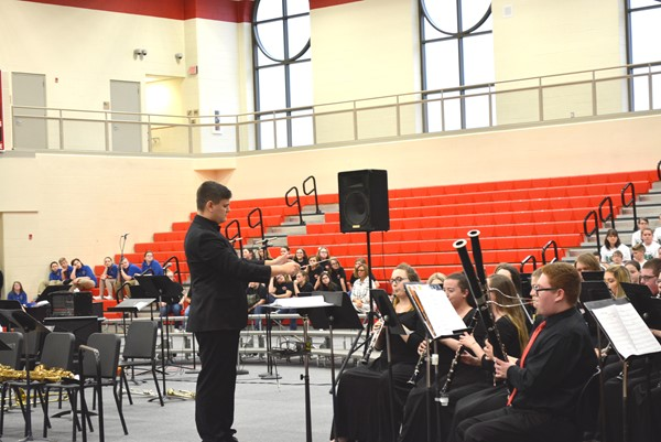 The Boyd County High School Band under the direction of Mr. Denkins.