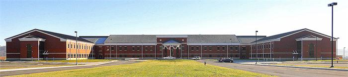 The new Boyd County High School.